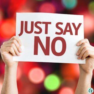 Nein sagen gewollt