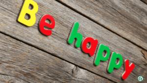 Wieder glücklich sein